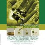 Degustazione del nuovo olio 17-18 Novembre