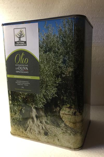 Olio di Castagneto 3 litri