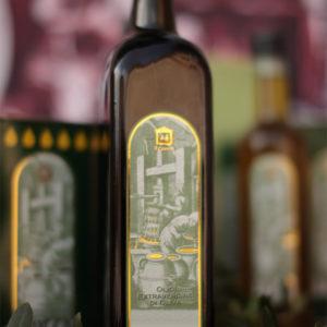 bottiglia olio 750 ml