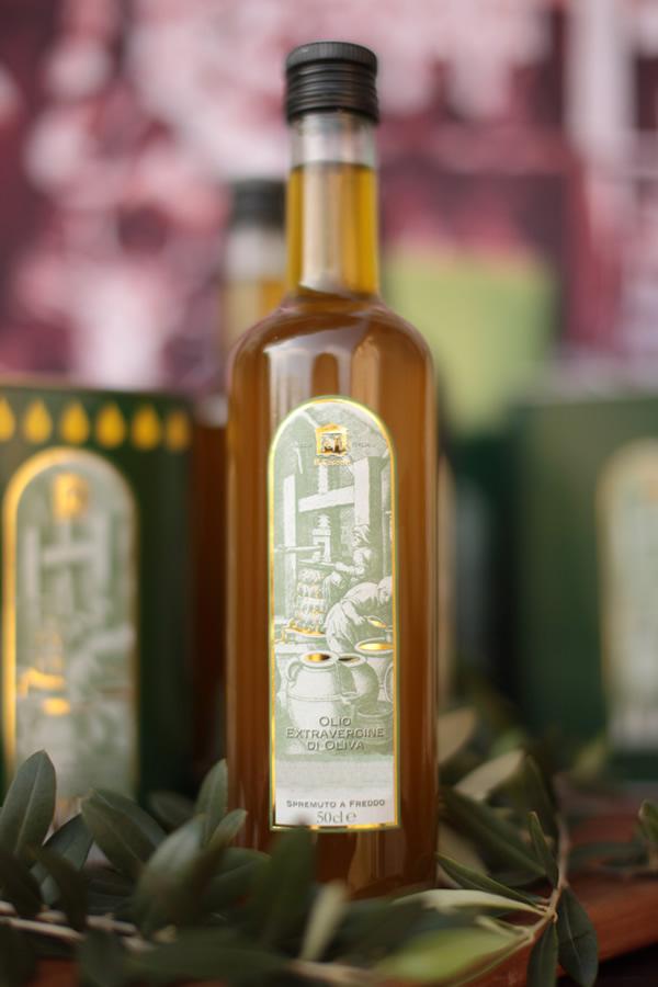 Olio di oliva toscano mezzo litro
